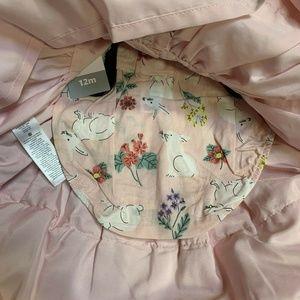 Carter's Dresses - Baby Girl Carter's Pink Floral Bunny Dress